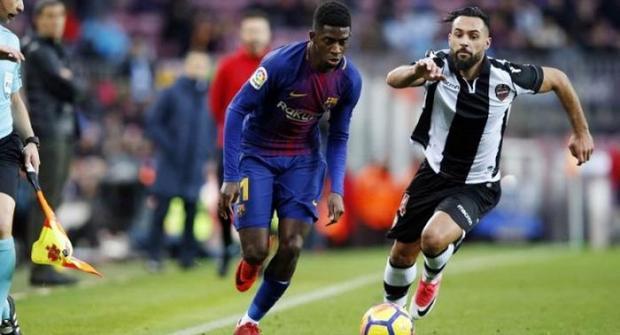 Прогноз и ставка на матч Леванте - Барселона 10 января 2018