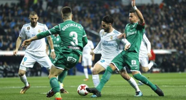 Прогноз и ставка на матч Реал (Мадрид) - Леганес 9 января 2018
