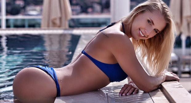 Юлия Ушакова — российская фитнес-модель