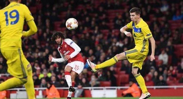 Прогноз и ставка на матч БАТЭ – Арсенал 14 февраля