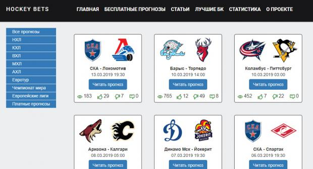 каппер hockey bets