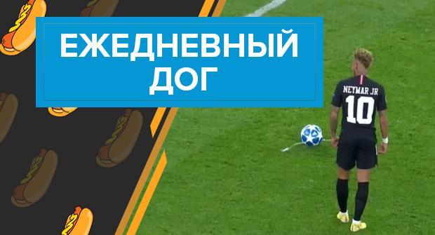 Ежедневный дог: подозрительный матч «ПСЖ» в Лиге чемпионов (видео)