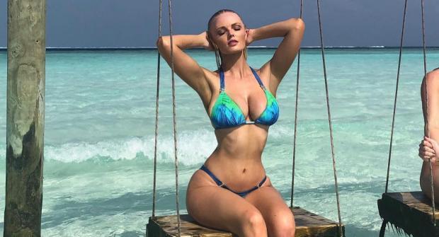 Зиенна Ив — модель из Дании