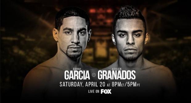 Прогноз и ставка на бой Дэнни Гарсия - Адриан Гранадос 21 апреля 2019