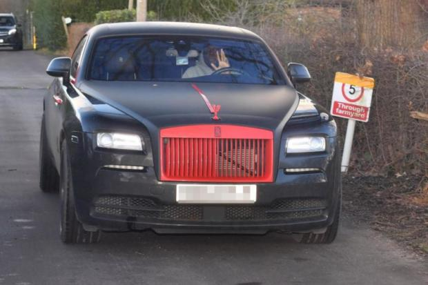 Rolls-Royce Ghost лукаку