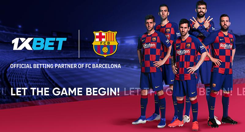 1xBet стал глобальным спонсором «Барселоны»