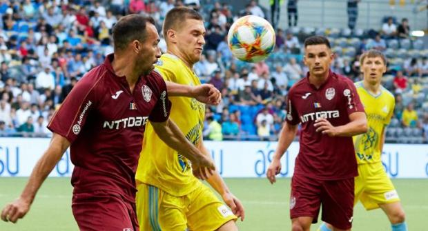 Прогноз и ставка на матч ЧФР Клуж - Астана 17 июля 2019 года