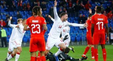 Прогноз и ставка на матч Дания — Швейцария 12 октября 2019