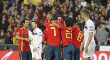 Норвегия — Испания и еще два футбольных матча: экспресс дня на 12 октября 2019 года