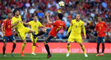 Прогноз и ставка на матч Швеция – Испания 15 октября 2019 года