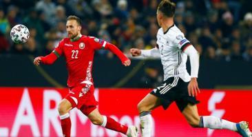 Шансы Беларуси выйти на Евро-2020 – 21%