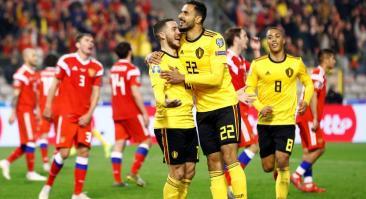 Россия – Бельгия: прогноз и ставка на матч 16 ноября 2019
