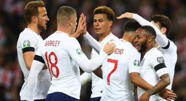 Англия – Черногория: прогноз и ставка на матч 14 ноября 2019