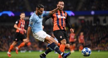 Манчестер Сити – Шахтер: прогноз и ставка на матч 26 ноября 2019