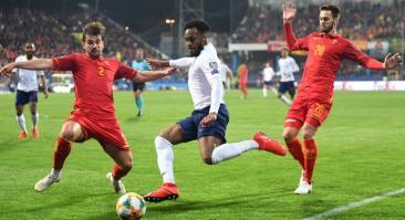 Англия — Черногория и еще два футбольных матча: экспресс дня на 14 ноября 2019 года