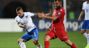 Прогноз и ставка на матч Италия – Армения 18 ноября 2019 года