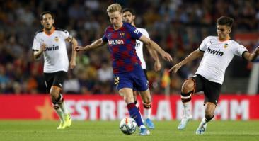 Валенсия — Барселона и еще два футбольных матча: экспресс дня на 25 января 2020 года