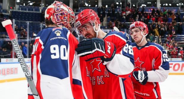 Прогноз и ставка на игру ЦСКА – СКА 21 января 2020 года