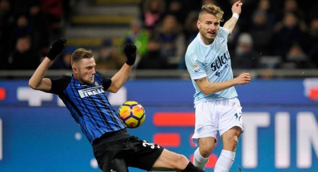 Лацио – Интер: прогноз и ставка на матч 16 февраля 2020