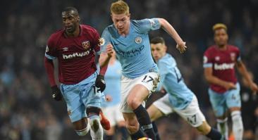 Манчестер Сити – Вест Хэм: прогноз и ставка на матч 19 февраля 2020