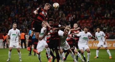 Прогноз и ставка на матч Байер — Аугсбург 23 февраля 2020
