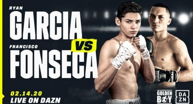 Прогноз и ставка на бой Франциско Фонсека - Райан Гарсия 15 февраля 2020