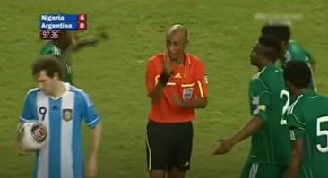 10 лет назад Уилсон Перумал и судья из Нигера гастролировали с договорняками перед ЧМ и ставили 3 пенальти за матч