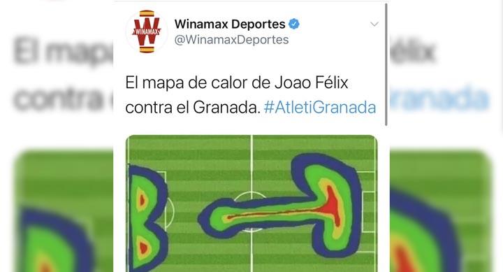 Букмекер-спонсор «Гранады» опубликовал унизительный твит про команду после разгрома от «Атлетико»