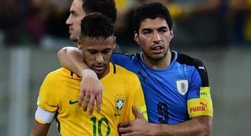 В матче Уругвай — Бразилия не сыграют Неймар и Суарес. Ставим на тотал меньше