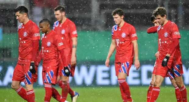 «Бавария» проиграла в Кубке Германии команде из Д2. Коэффициент на проход «Хольштайна» составлял 11