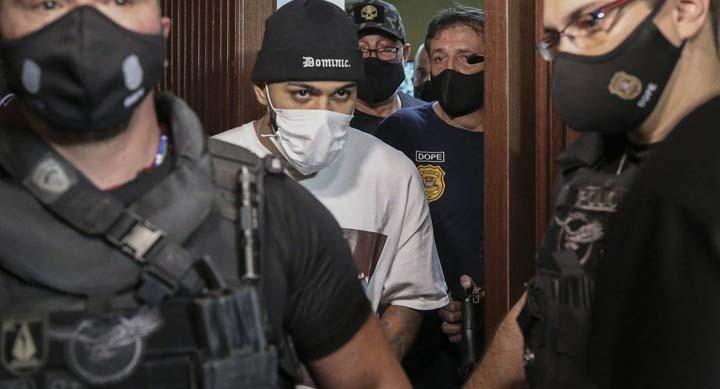 Бразильского форварда Габриэля Барбозу задержали в нелегальном казино