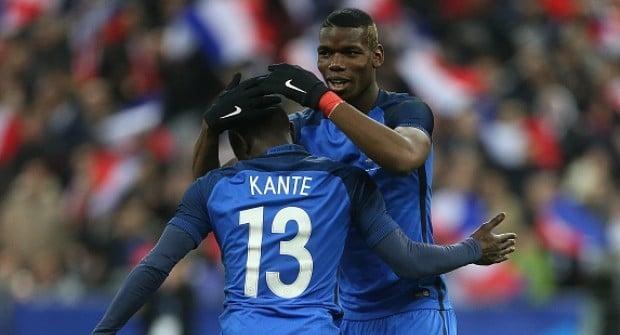 Сборная Франции не проигрывает c Погба и Канте в старте. На непроигрыш немцам коэффициент 1,45