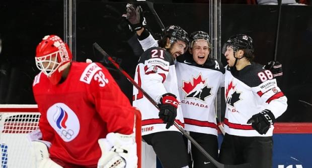 Клиент букмекера выиграл почти 500 000 рублей на матче Россия — Канада