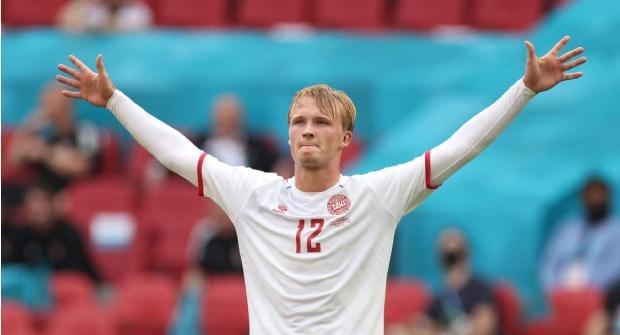 Коэффициент на то, что Дольберг станет лучшим бомбардиром Дании на Евро — 1,4