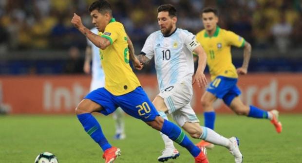 Ничья в основное время, гол Месси и ТБ 5,5 ЖК. На что ставить в финале Кубка Америки Бразилия — Аргентина