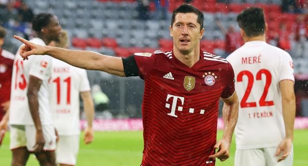 Левандовски забивает за «Баварию» в 15 матчах подряд. На гол «Герте» коэффициент 1,25