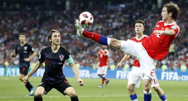 Букмекер дает кэф 2,8 на победу сборной России над Хорватией в дебютном матче Карпина