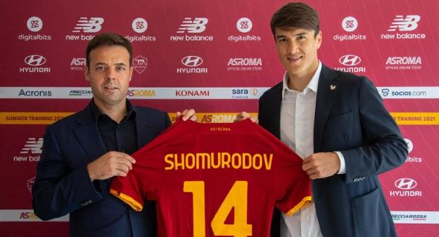 Шомуродов в прошлом сезоне Серии А забил 8 голов. Кэф на 7 мячей за «Рому» — 1,9