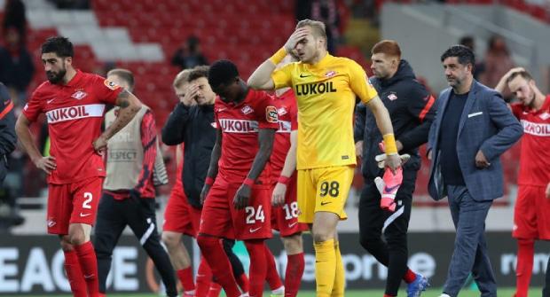 Коэффициент на выход «Спартака» в плей-офф Лиги Европы упал в 2,5 раза