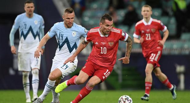 Большинство бетторов не верят в победу сборной России над Словенией
