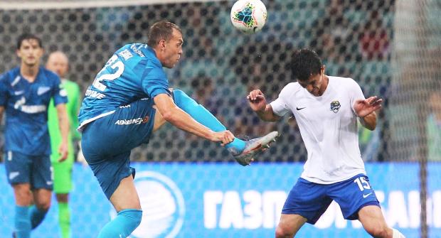 «Зенит» выиграл у «Сочи» все 4 матча. Кэф на очередную победу — 1,42