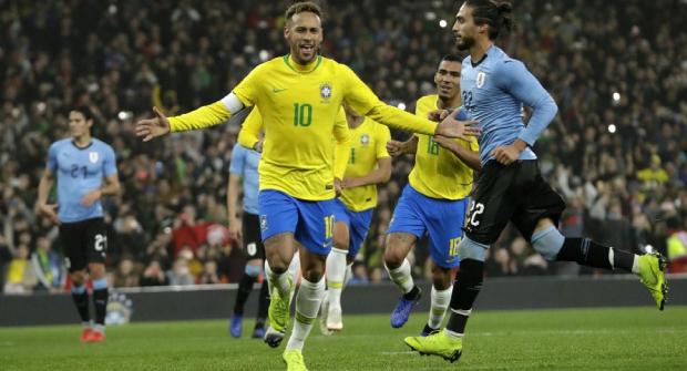 У Бразилии 9 побед в 10 матчах квалификации ЧМ-2022. На сухую победу над Уругваем коэффициент 2.28